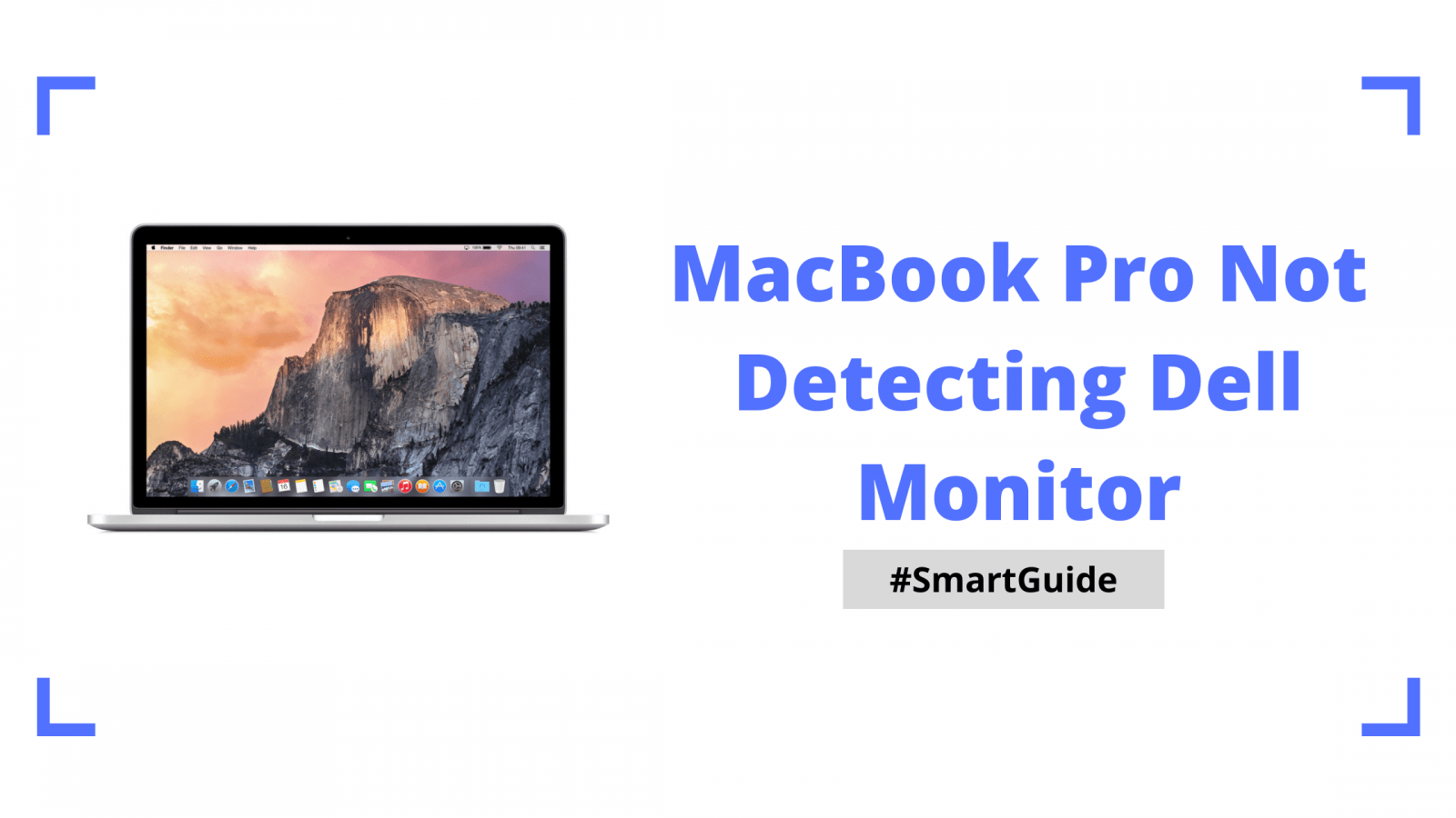 MacBook Pro Not Detecting Dell Monitor
